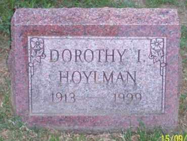 HOYLMAN, DOROTHY I. - Ross County, Ohio   DOROTHY I. HOYLMAN - Ohio Gravestone Photos