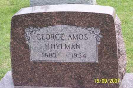 HOYLMAN, GEORGE AMOS - Ross County, Ohio | GEORGE AMOS HOYLMAN - Ohio Gravestone Photos
