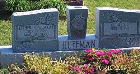HUFFMAN, ESTHER R. - Ross County, Ohio | ESTHER R. HUFFMAN - Ohio Gravestone Photos