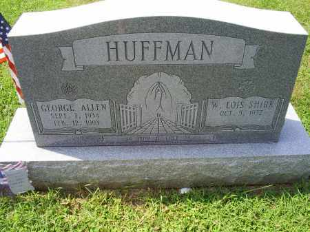 HUFFMAN, GEORGE ALLEN - Ross County, Ohio | GEORGE ALLEN HUFFMAN - Ohio Gravestone Photos