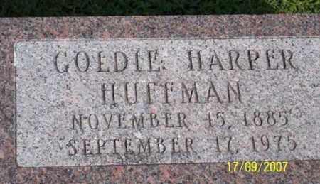 HUFFMAN, GOLDIE - Ross County, Ohio | GOLDIE HUFFMAN - Ohio Gravestone Photos