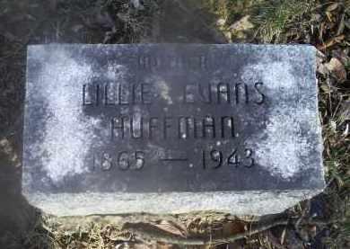 EVANS HUFFMAN, LILLIE - Ross County, Ohio | LILLIE EVANS HUFFMAN - Ohio Gravestone Photos