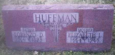 HUFFMAN, ELIZABETH L. - Ross County, Ohio | ELIZABETH L. HUFFMAN - Ohio Gravestone Photos
