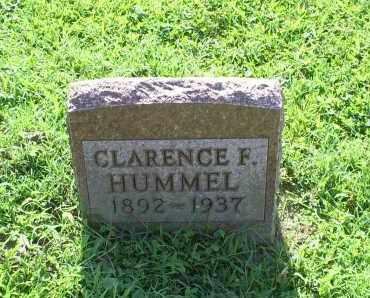 HUMMEL, CLARENCE F. - Ross County, Ohio   CLARENCE F. HUMMEL - Ohio Gravestone Photos
