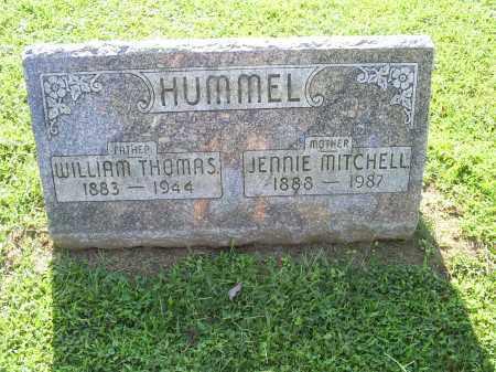 HUMMEL, WILLIAM THOMAS - Ross County, Ohio | WILLIAM THOMAS HUMMEL - Ohio Gravestone Photos