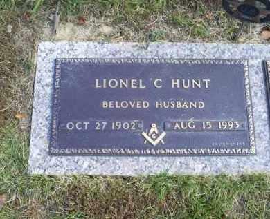 HUNT, LIONEL C. - Ross County, Ohio | LIONEL C. HUNT - Ohio Gravestone Photos