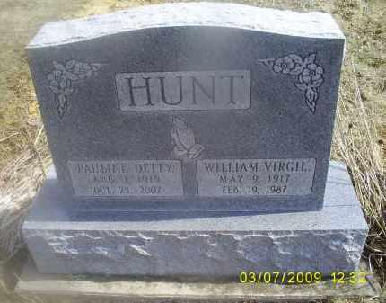 HUNT, PAULINE - Ross County, Ohio   PAULINE HUNT - Ohio Gravestone Photos