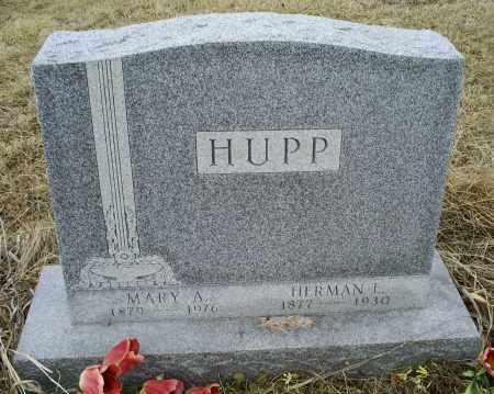 HUPP, HERMAN L. - Ross County, Ohio | HERMAN L. HUPP - Ohio Gravestone Photos