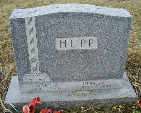 HUPP, MARY A. - Ross County, Ohio | MARY A. HUPP - Ohio Gravestone Photos