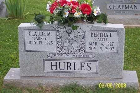 "HURLES, BERTHA I. ""CASTLE"" - Ross County, Ohio | BERTHA I. ""CASTLE"" HURLES - Ohio Gravestone Photos"