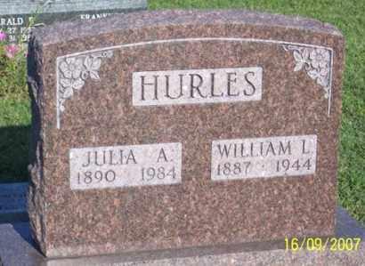 HURLES, WILLIAM L. - Ross County, Ohio   WILLIAM L. HURLES - Ohio Gravestone Photos