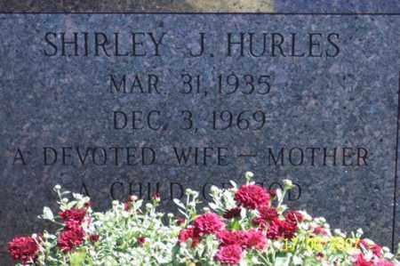 HURLES, SHIRLEY J. - Ross County, Ohio   SHIRLEY J. HURLES - Ohio Gravestone Photos