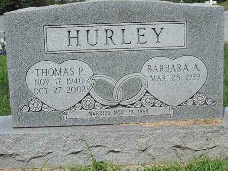 HURLEY, BARBARA A. - Ross County, Ohio | BARBARA A. HURLEY - Ohio Gravestone Photos