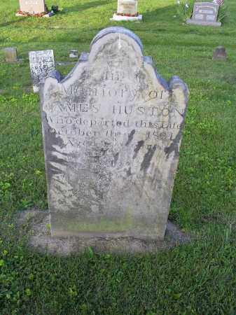 HUSTON, JAMES - Ross County, Ohio   JAMES HUSTON - Ohio Gravestone Photos