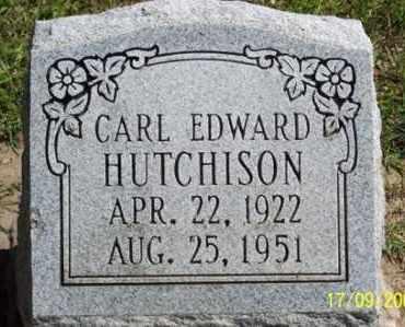 HUTCHISON, CARL EDWARD - Ross County, Ohio | CARL EDWARD HUTCHISON - Ohio Gravestone Photos