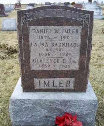 IMLER, DANIEL W. - Ross County, Ohio | DANIEL W. IMLER - Ohio Gravestone Photos