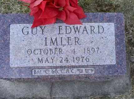 IMLER, GUY EDWARD - Ross County, Ohio   GUY EDWARD IMLER - Ohio Gravestone Photos