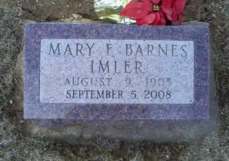 IMLER, MARY F. - Ross County, Ohio | MARY F. IMLER - Ohio Gravestone Photos