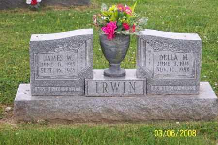 IRWIN, DELLA M. - Ross County, Ohio | DELLA M. IRWIN - Ohio Gravestone Photos