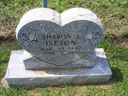 ISETON, SHARON J. - Ross County, Ohio | SHARON J. ISETON - Ohio Gravestone Photos