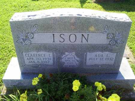 ISON, CLARENCE L. - Ross County, Ohio | CLARENCE L. ISON - Ohio Gravestone Photos