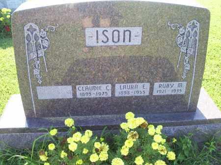ISON, RUBY M. - Ross County, Ohio   RUBY M. ISON - Ohio Gravestone Photos
