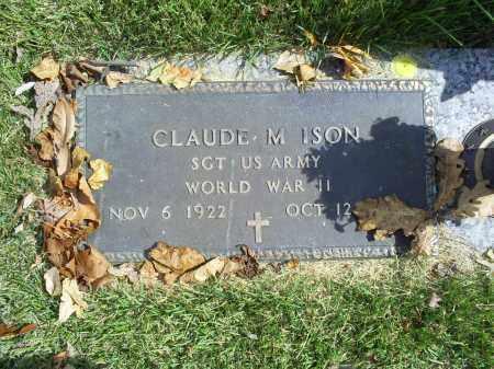 ISON, CLAUDE M. - Ross County, Ohio | CLAUDE M. ISON - Ohio Gravestone Photos