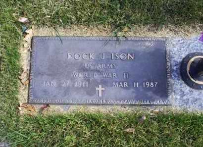 ISON, DOCK J. - Ross County, Ohio | DOCK J. ISON - Ohio Gravestone Photos
