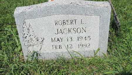 JACKSON, ROBERT L - Ross County, Ohio | ROBERT L JACKSON - Ohio Gravestone Photos