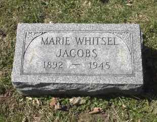WHITSEL JACOBS, MARIE - Ross County, Ohio | MARIE WHITSEL JACOBS - Ohio Gravestone Photos