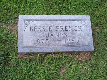 FRENCH JANES, BESSIE - Ross County, Ohio | BESSIE FRENCH JANES - Ohio Gravestone Photos