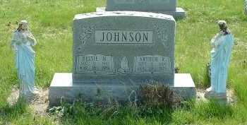 JOHNSON, ARTHUR R. - Ross County, Ohio | ARTHUR R. JOHNSON - Ohio Gravestone Photos