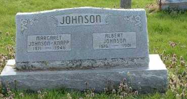 JOHNSON, ALBERT - Ross County, Ohio | ALBERT JOHNSON - Ohio Gravestone Photos