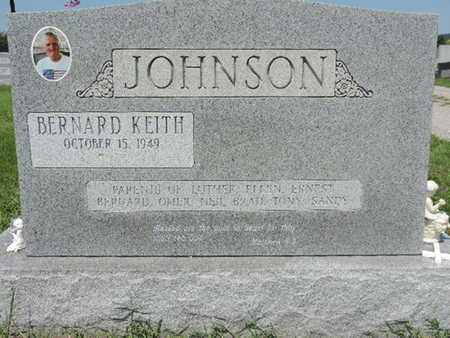 JOHNSON, BERNARD KEITH - Ross County, Ohio | BERNARD KEITH JOHNSON - Ohio Gravestone Photos