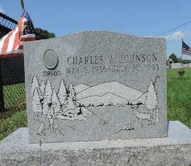 JOHNSON, CHARLES A - Ross County, Ohio | CHARLES A JOHNSON - Ohio Gravestone Photos