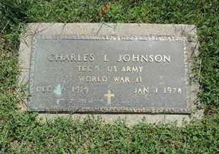 JOHNSON, CHARLES L. - Ross County, Ohio   CHARLES L. JOHNSON - Ohio Gravestone Photos