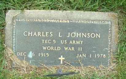 JOHNSON, CHARLES L. - Ross County, Ohio | CHARLES L. JOHNSON - Ohio Gravestone Photos