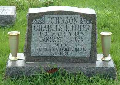 JOHNSON, CHARLES LUTHER - Ross County, Ohio   CHARLES LUTHER JOHNSON - Ohio Gravestone Photos