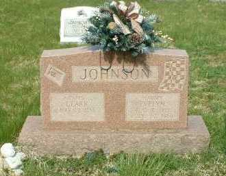 JOHNSON, CLARK - Ross County, Ohio | CLARK JOHNSON - Ohio Gravestone Photos