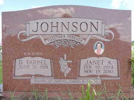 JOHNSON, JANET A. - Ross County, Ohio | JANET A. JOHNSON - Ohio Gravestone Photos