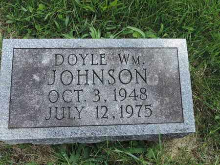JOHNSON, DOYLE WILLIAM - Ross County, Ohio | DOYLE WILLIAM JOHNSON - Ohio Gravestone Photos