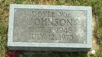 JOHNSON, DOYLE WM. - Ross County, Ohio | DOYLE WM. JOHNSON - Ohio Gravestone Photos