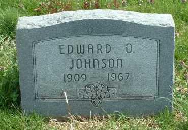 JOHNSON, EDWARD O. - Ross County, Ohio | EDWARD O. JOHNSON - Ohio Gravestone Photos