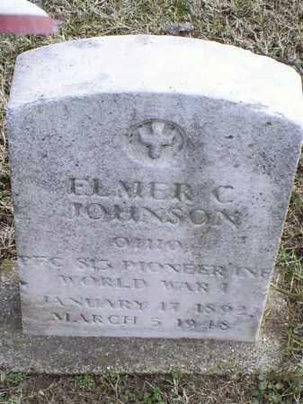 JOHNSON, ELMER C. - Ross County, Ohio | ELMER C. JOHNSON - Ohio Gravestone Photos