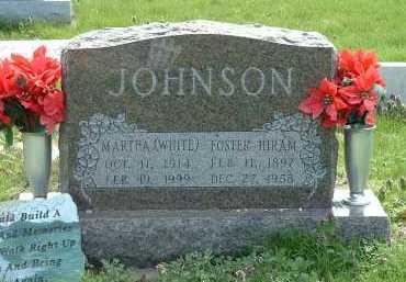 JOHNSON, FOSTER HIRAM - Ross County, Ohio   FOSTER HIRAM JOHNSON - Ohio Gravestone Photos
