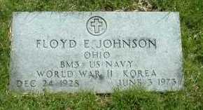 JOHNSON, FLOYD E. - Ross County, Ohio   FLOYD E. JOHNSON - Ohio Gravestone Photos