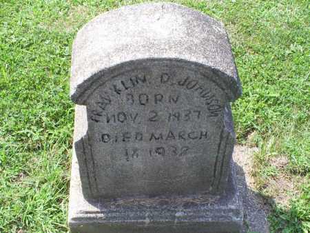 JOHNSON, FRANKLIN D. - Ross County, Ohio | FRANKLIN D. JOHNSON - Ohio Gravestone Photos
