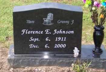 JOHNSON, FLORENCE E. - Ross County, Ohio   FLORENCE E. JOHNSON - Ohio Gravestone Photos