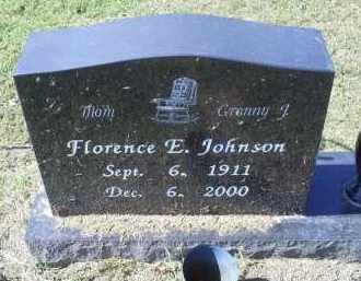 JOHNSON, FLORENCE E. - Ross County, Ohio | FLORENCE E. JOHNSON - Ohio Gravestone Photos