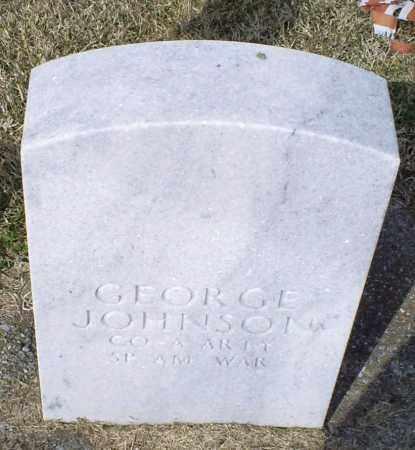 JOHNSON, GEORGE - Ross County, Ohio | GEORGE JOHNSON - Ohio Gravestone Photos